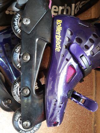 Rollerblade 25cm.