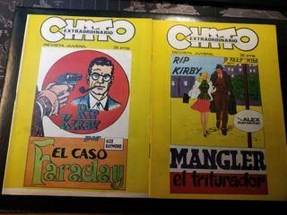 Revista Chito - Cómics- Rip Kirby - A. Raymond