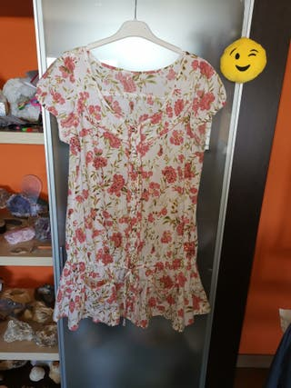 camisa mujer, t/m, 100%algodon