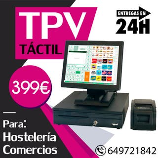 TPV caja registradora con licencia definitiva!