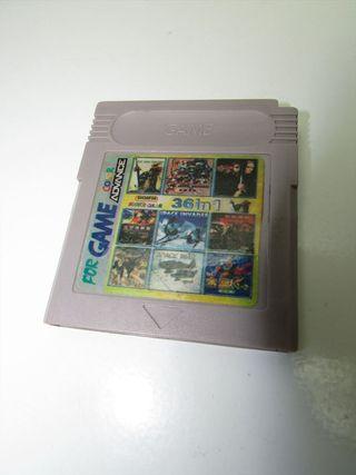 Juego Nintendo Game Boy Suelto 36 in 1