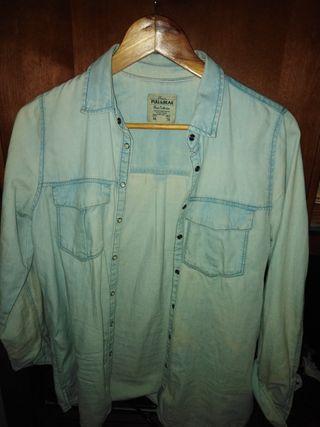 camisa estradivarius talla m