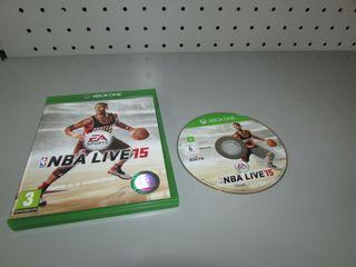 Juego Xbox One NBA Live 2015 en caja PAL ESP