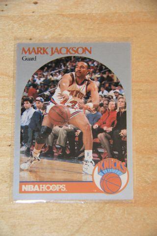 MARK JACKSON, NBA HOOPS 1990-91 (HERMANOS MENENDEZ
