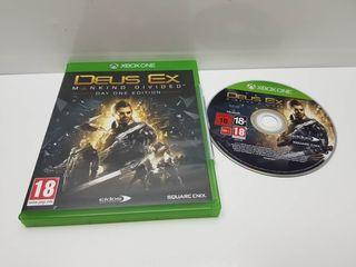Juego Xbox One Completo Deus Ex Machine