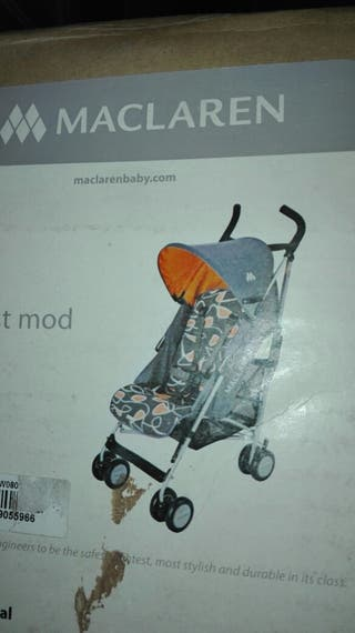 Carrito bebé Maclaren y mecedora automático