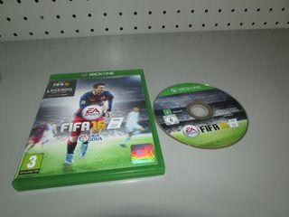 Juego Xbox One Fifa 16 en caja PAL ESP