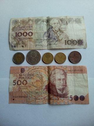 Lote Escudos Portugualx9€