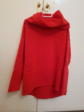 Sudadera roja