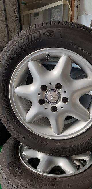 Llantas Original de Mercedes Benz