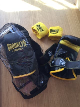 Guantes y vendas Brooklyn