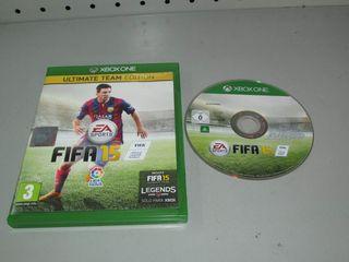 Juego Xbox One Fifa 15 Completo