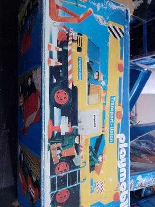 Grúa Playmobil
