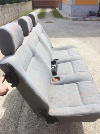 Fila tres asientos volkswagen T4