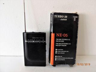 RADIO PEQUEÑA TURBO 20 AÑO 2000
