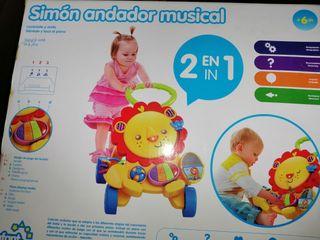 Simón andador musical