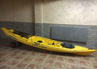 Kayak pesca mar