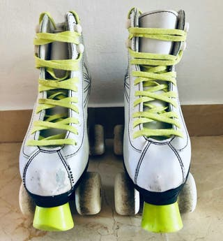 patines blancos