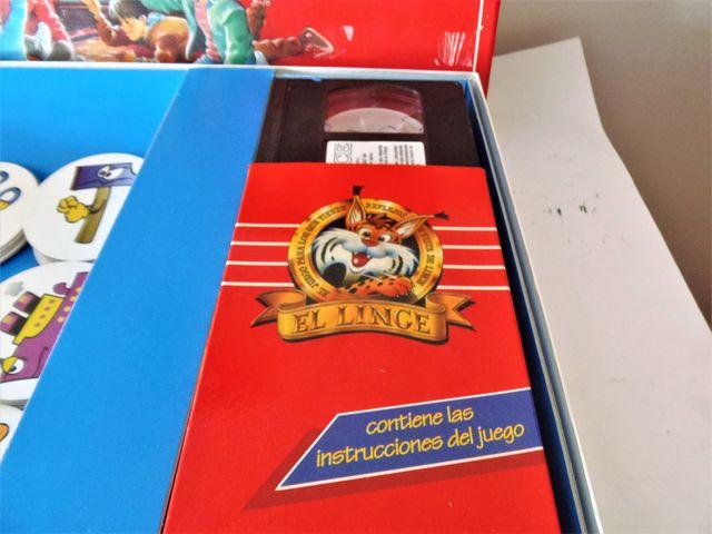 Juego de mesa El Lince con vídeo VHS de Educa