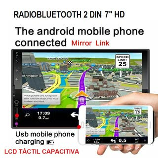 "Autoradio 2din 7""he capacitiva USB"