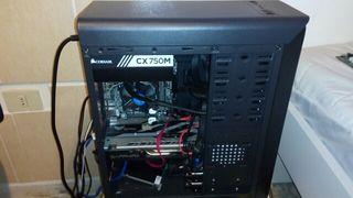 pc gaming i5 7ma generación, rx570 8gb Corsair750m