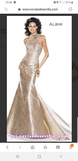 60733092e9 Vestido de novia Pronovias de segunda mano en la provincia de ...