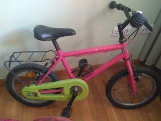 Bici infantil niño niña 16 pulgadas