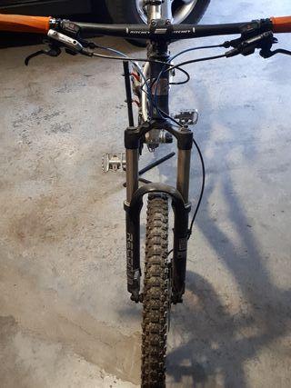 bicicleta orbea doble talla L