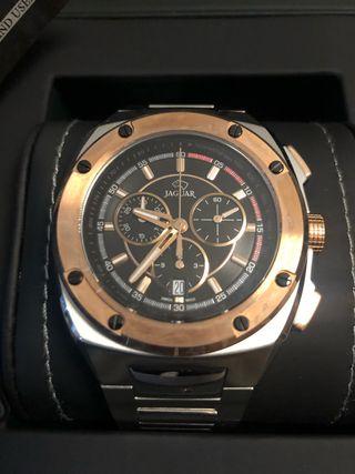 Reloj Jaguar acero Chonograph