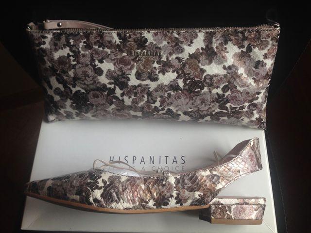 Zapatos y bolso de piel de HISPANITAS