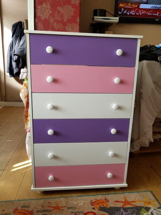 new pink drawer £100