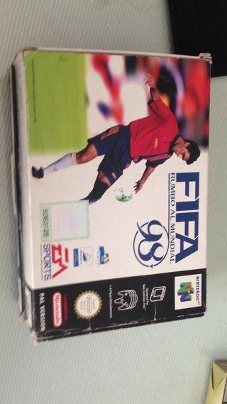 FIFA 98 n 64 caja