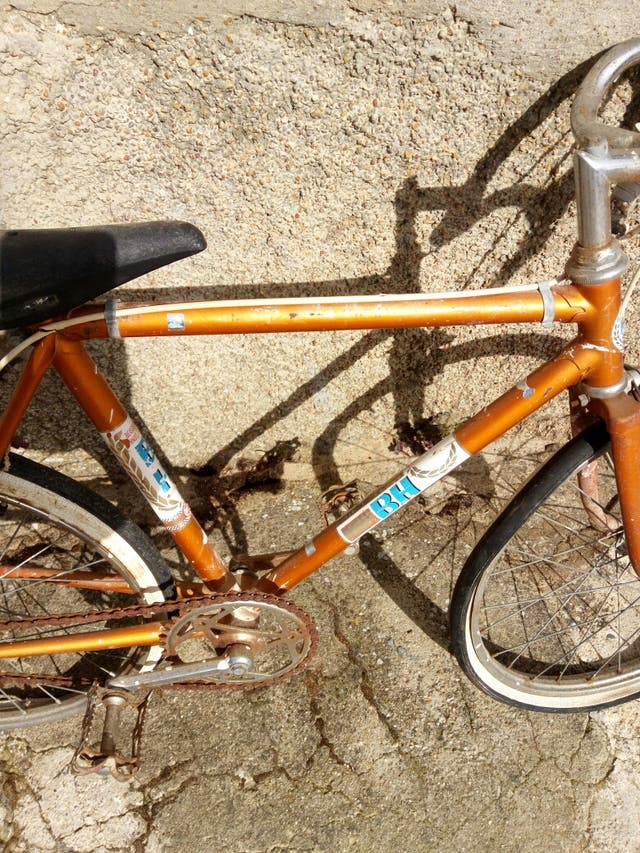 bici de carrera antigua