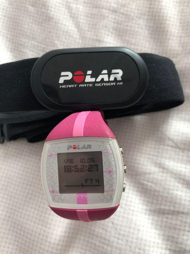 Pulsometro Polar FT4 Rosa