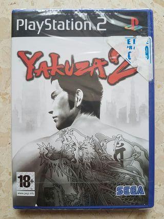 Yakuza 2 PS2 Nuevo
