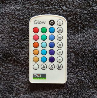 Mando a distancia lámpara multicolor Tao Glow