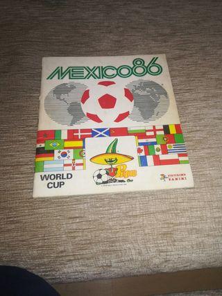 Álbum de cromos Mundial de fútbol 1986