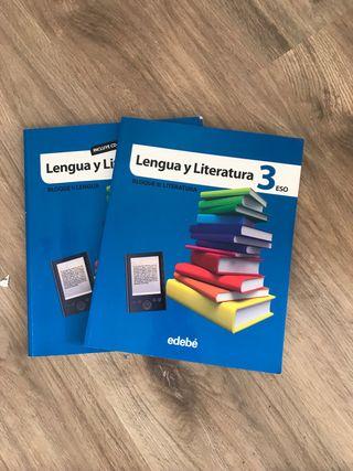 Libros texto 3ESO Castellano EDEBE NUEVO