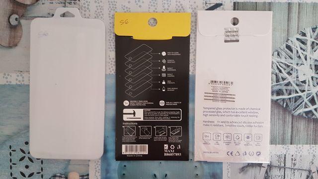 Lote 3 protectores cristal templado Galaxy S6