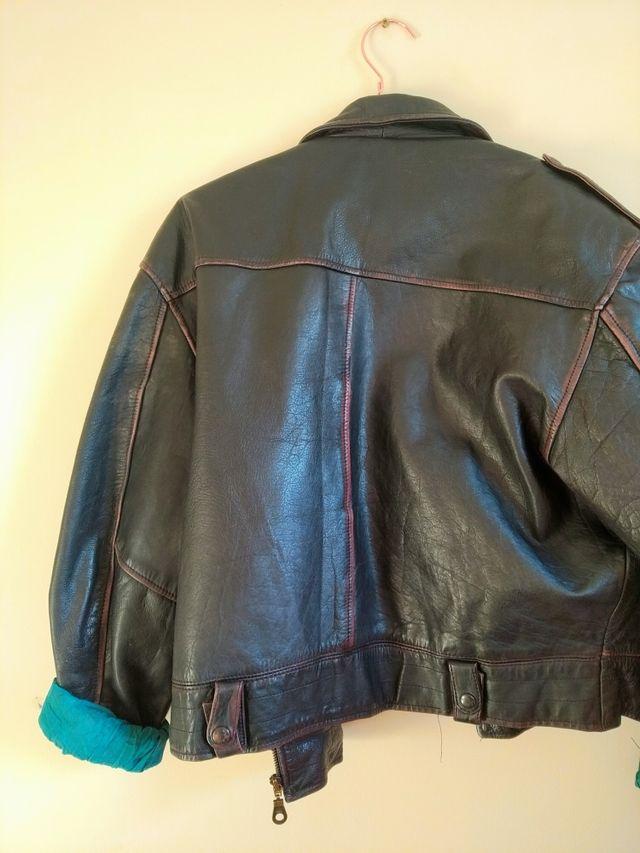 Vintage unique leather jacket