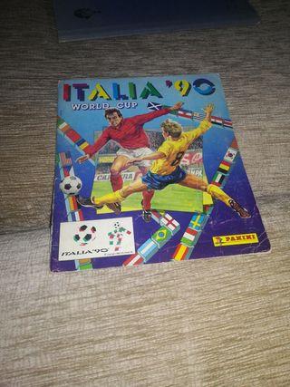 Álbum de cromos Mundial Italia 1990
