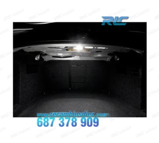 Plafón LED de maletero para BMW