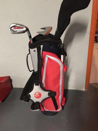 Kit infantil Golf (8-10 años) Inesis + hierro 9