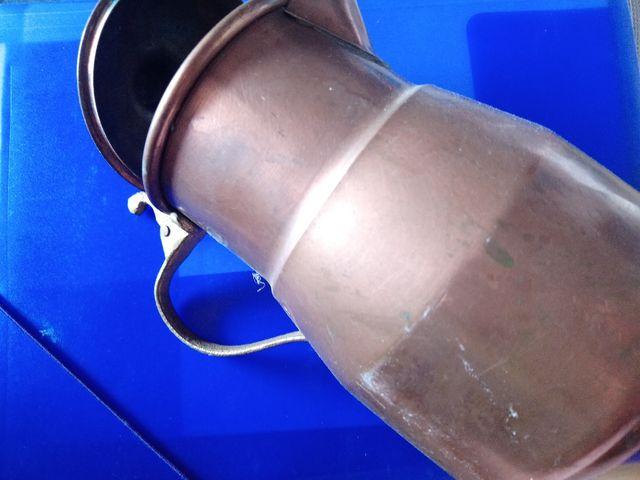 jarra antigua de cobre