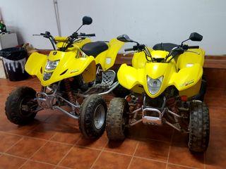 quads suzuki 400cc y 250cc