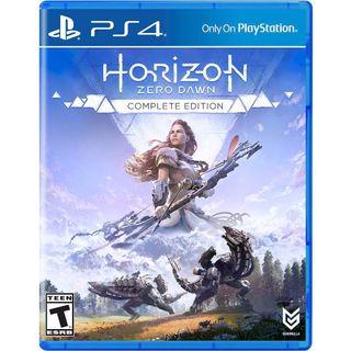 Horizon Zero de PS4