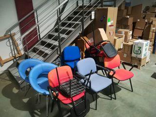 lote 10 sillas de oficina