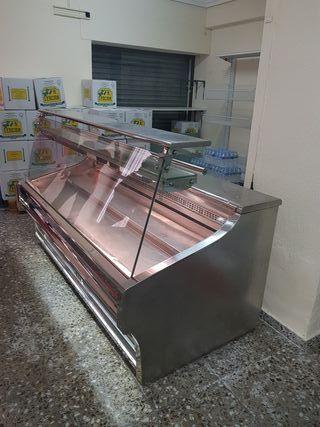 vitrina con frigo