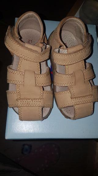 sandalias de vestir bebé