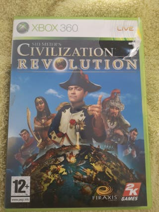 civilization revolution para xbox360